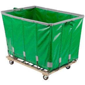Dandux Vinyl Basket Bulk Truck 400720G12E-3S 12 Bushel - Green