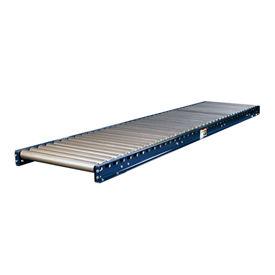 "Omni Metalcraft 2-1/2"" Dia. Steel Roller Conveyor Straight Section GUHS2.5X11-36-4-10"