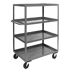 Jamco Heavy Duty Shelf Truck 4 Shelves CD348 48x30 3000 Lb. Capacity