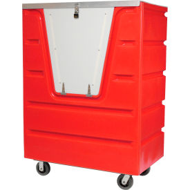 Dandux Red Hopper Front Security Bulk Truck 51-2560SR 58 Cu. Ft.