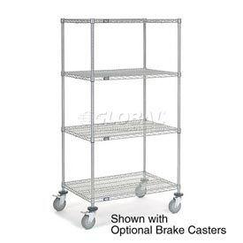 Nexelate Wire Shelf Truck 48x18x80 1200 Pound Capacity