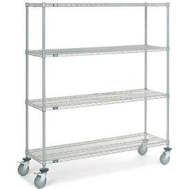 Nexelate Wire Shelf Truck 72x18x80 1200 Pound Capacity
