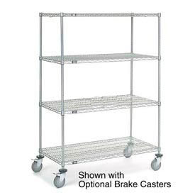 Nexelate Wire Shelf Truck 60x24x80 1200 Pound Capacity