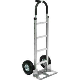 Global Industrial™ Aluminum Hand Truck - Pin Handle - Pneumatic Wheels