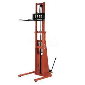 PrestoLifts™ Battery Power Straddle Stacker PST2127-50 Fixed Legs 2000 Lb.