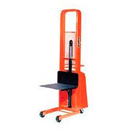 PrestoLifts™ Pacemaker Battery Powered Lift Stacker B552-2000 2000 Lb. 24x24 Platform