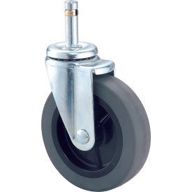 "4"" Rubber Swivel Casters Set Of 4 - Pkg Qty 4"