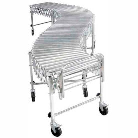 "NestaFlex® RLS24028S Portable Flexible 24""W Roller Conveyor 200 Lb./Foot"