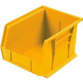 Akro-Mils AkroBin® Plastic Stacking Bin 30239 -  8-1/4 x 10-3/4 x 7 Yellow - Pkg Qty 6
