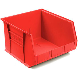 "Akro-Mils AkroBin® Plastic Stacking Bin 30270 - 16-1/2""W x 18""D x 11""H, Red - Pkg Qty 3"