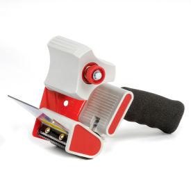 """Heavy-Duty Packaging Tape Dispenser with Foam Grip Handle & Reinforced Blade 3"""" Tape Width"""