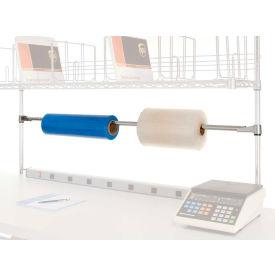 Distributeur de ruban adhésif/support à rouleaux pour établi ou table de travail