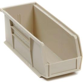 "Akro-Mils AkroBin® Plastic Stacking Bin 30224 - 4-1/8""W x 10-7/8""D x 4""H, Stone - Pkg Qty 12"
