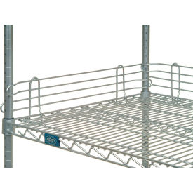 "Nexel® Chrome Ledge 60""L X 4""H for Wire Shelves"