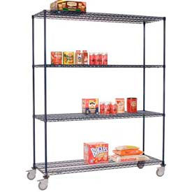 Nexelon™ Wire Shelf Truck 60x18x80 1200 Lb. Capacity
