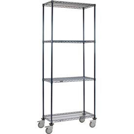 Nexelon™ Wire Shelf Truck 36x18x92 1200 Lb. Capacity
