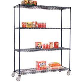 Nexelon™ Wire Shelf Truck 48x18x92 1200 Lb. Capacity