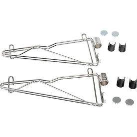 """Adjustable Single Shelf Support Kit 14"""" Deep (Pair)"""