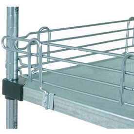 "Nexel® SL30C Chrome Ledge 30""L X 4""H for Solid Shelves"