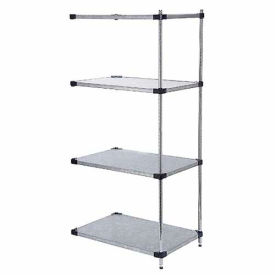 36x18x63 Galvanized Steel Solid Shelving Add-On