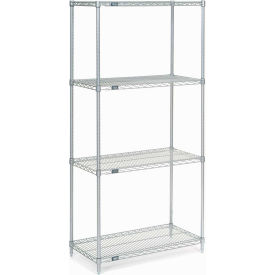 48x24x63 Galvanized Steel Solid Shelving Add-On