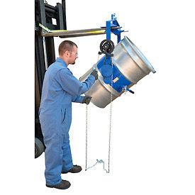 Vestil Adjustable Tilt Drum Dumper DCT-75 for 55 Gallon Steel Drum