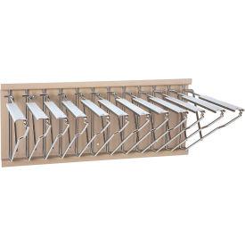 Brookside Design - Pivot Wall Mount Blueprint Storage Rack with 12 Hangers