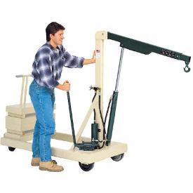 Optional Floor Lock for Beech® Reversed Boom Floor Cranes
