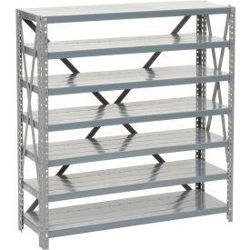Steel Open Shelving 7 Shelves No Bin - 36x12x39