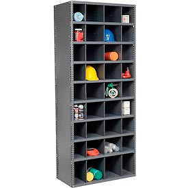 Steel Storage Bin Cabinet with Plastic Dividers