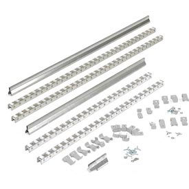 Gravity Carton Flow Roller Track Kit 84""