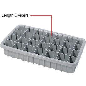 Dandux Length Divider 50P0016067 for Dividable Nesting Box 50P1816070, 50P1811070, Gray