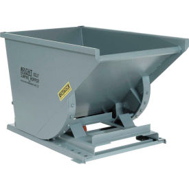 Wright 20077 2 Cu Yd Gray Heavy Duty Self Dumping Forklift Hopper