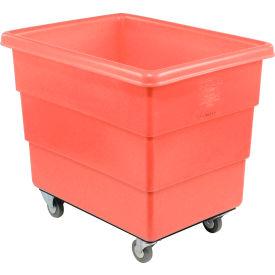 Dandux Red Plastic Box Truck 51126012R-3S 12 Bushel Medium Duty