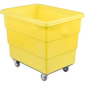 Dandux Yellow Plastic Box Truck 51126014Y-3S 14 Bushel Medium Duty