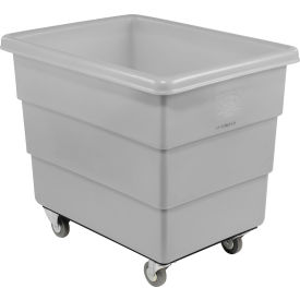 Dandux Gray Plastic Box Truck 51-126018A-3S 18 Bushel Medium Duty