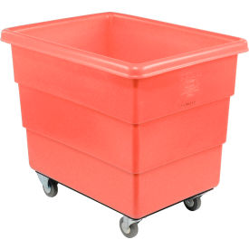 Dandux Red Plastic Box Truck 51-126018R-3S 18 Bushel Medium Duty