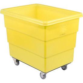 Dandux Yellow Plastic Box Truck 51126020Y-3S 20 Bushel Medium Duty