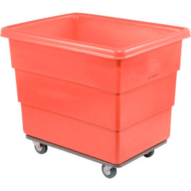 Dandux Red Plastic Box Truck 51116008R-3S 8 Bushel Heavy Duty