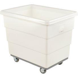 Dandux White Plastic Box Truck 51116010N-3S 10 Bushel Heavy Duty- Pkg Qty 1