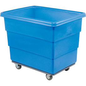 Dandux Blue Plastic Box Truck 51116012U-4S 12 Bushel Heavy Duty