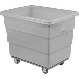 Dandux Gray Plastic Box Truck 51116014A-4S 14 Bushel Heavy Duty