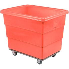 Dandux Red Plastic Box Truck 51116016R-4S 16 Bushel Heavy Duty