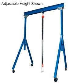 Vestil Steel Gantry Crane FHS-2-15 10' Fixed Height 2000 Lb. Capacity