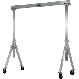Vestil Aluminum Gantry Crane AHA-4-10-10 Adjustable Height - 4,000 lb. Capacity