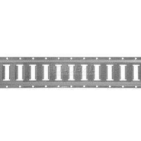 Ancra® 48117-25 5' E-Track Section - Gray Powder Coat Finish - Pkg Qty 2