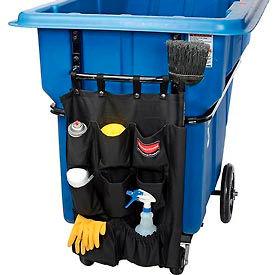 Nine Pocket Caddy Bag 9T90 for Rubbermaid® Structural Foam Tilt Trucks