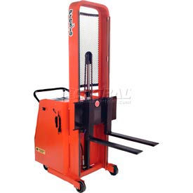 "PrestoLifts™ Battery Powered Lift Counter Balance Stacker C62A-800 62""H"