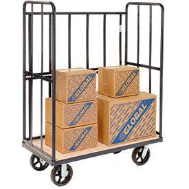 High End Wood Shelf Truck 48 x 24 2000 Lb. Capacity