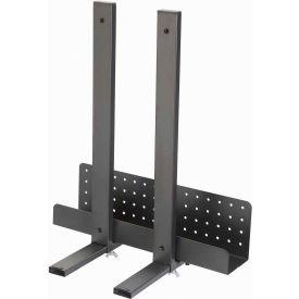 Adjustable Width CPU Holder for Adjustable Steel Workstation